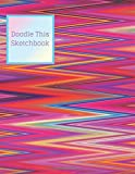 Doodle This Sketchbook: Decorative Artists Sketch Book Pad