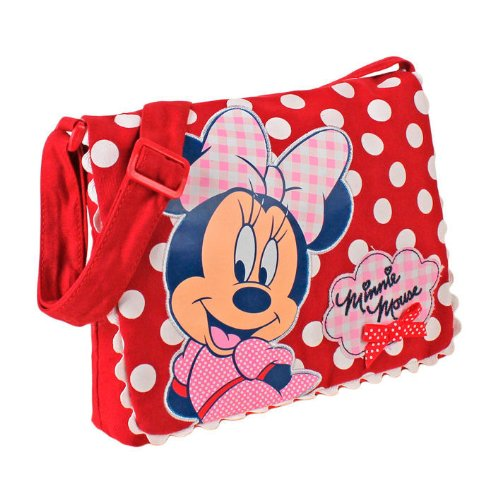 Disney SAMBRO Minnie Maus Lasche Schultertasche -