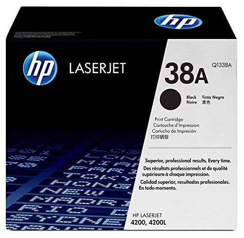 HP 38A Schwarz Original HP LaserJet Tonerkartusche (4200 Laserjet Hp Toner)