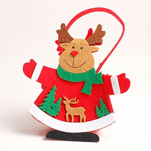 Bluelover Weihnachtstag Stocking Packing Geschenkbox Cute Santa Decoration Candy Box Stocking Taschen - 2