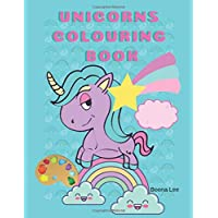 Unicorns Colouring Book: workbook for children age 3 - 5 year old