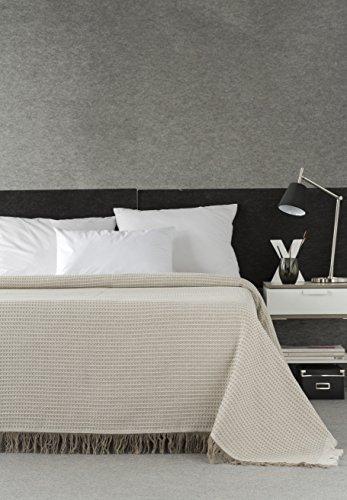 DECORACION NUEVO ESTILO- Plaid-Foulard Multiusos Nido para Camas o sofás, tamaño 230...