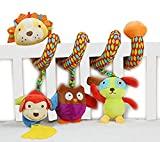Best Musical Toy For One Year Old Boys - SKK Baby Musical Spiral Activity Toy Plush Lion Review