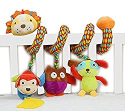 Skk Baby Musical Spiral Activity Toy Plush Lion