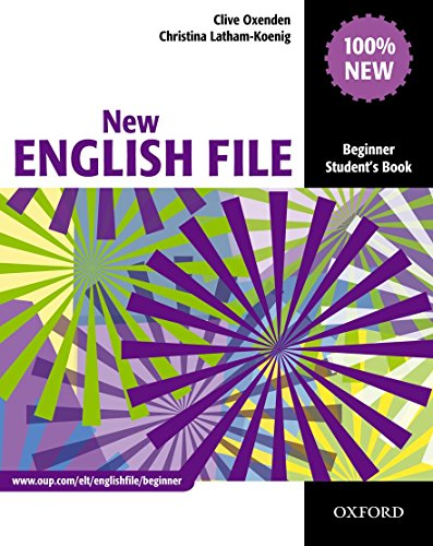 New English File Beginner : Student's Book par Clive Oxenden