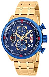 Invicta Analog Blue Dial Men's Watch-19173