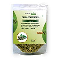 Purely Nature Green Coffee Beans Unroasted Arabica Pack of 1 (200Gm)
