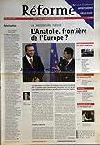 Telecharger Livres REFORME No 3098 du 14 10 2004 POLARISATION PAR MOUTON ET NOUIS LA CANDITATURE TURQUE L ANATOLIE FRONTIERE DE L EUROPE PAR HERVIEU LEGER LA SOLITUDE POURQUOI JACQUES DERRIDA HANS CHRISTOPH ASKANI ET PIERRE YVES RUFF LES ASSISES DE LA FPF CES AUTRES EVANGELIQUES KATHY KELLY JOHN TROTT CHRIS WARD LA MORT UN SUJET VITAL MICHEL HANUS (PDF,EPUB,MOBI) gratuits en Francaise