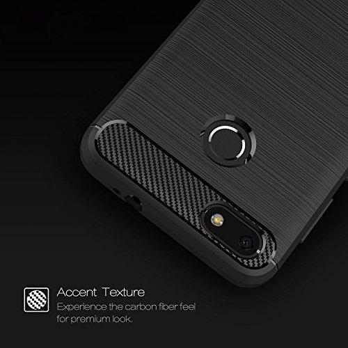 enorme sconto 3cdad 2d931 Cover Huawei Y6 Pro 2017 , ivencase Nero Custodia Huawei Y6 ...