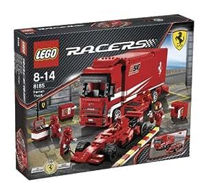 lego 8185 jeu de construction racer ferrari f1 euro cargo jeux et jouets. Black Bedroom Furniture Sets. Home Design Ideas