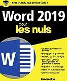 Word 2019 pour les Nuls...