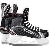 Bauer Patins à glace pour homme Vapor X300Senior Hockey sur glace patins à glace, Homme, Bauer Schlittschuh Vapor X300 Senior, noir/argent