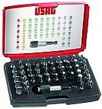 USAG 692 J49 U06920041 Assortimento di Inserti per Avvitature (49 pezzi)