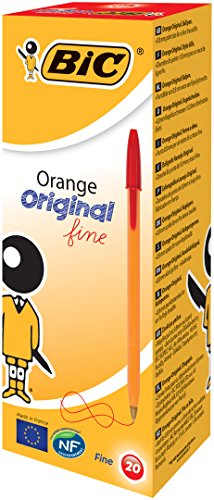 bic-orange-original-fine-ballpoint-pen-red-pack-of-20