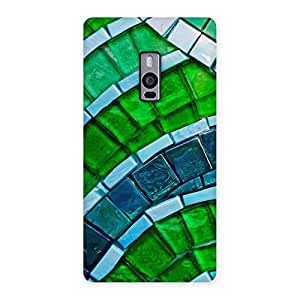 Special Green Footpath Back Case Cover for OnePlus Two