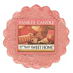 Yankee Candle (Bougie) - Home Sweet Home - Tartelette en cire
