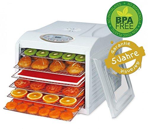 Dörrgerät Dörrautomat Obst Gemüse Trockner Veggy Dry Dehydrator, Food Dryer Dörrer Dörrapparat BPA frei