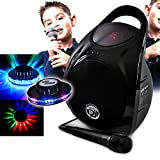 karaoké enfants MyDj FUZZY 6.5 sur batterie 60W USB/SD/BLUETOOTH + Effet OVNI LED