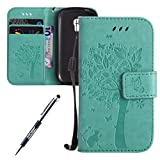 Carcasa Samsung Galaxy S3 Mini, Funda Samsung Galaxy S3 Mini i8190, JAWSEU Samsung Galaxy S3 Mini...
