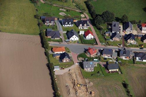 MF Matthias Friedel - Luftbildfotografie Luftbild von Hoppenbrook in Hammoor (Stormarn), aufgenommen am 25.09.11 um 13:30 Uhr, Bildnummer: 5989-03, Auflösung: 6048x4032px = 24MP - Fotoabzug 50x75cm