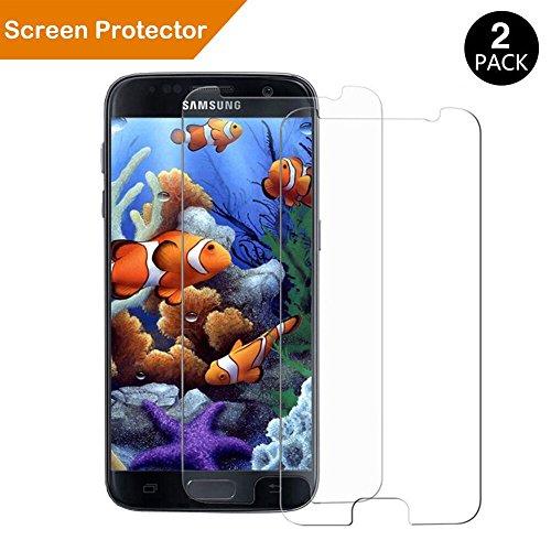 Samsung Galaxy S7 Schutzfolie, Extrem kratzfeste und schmutzabweisende Glas Displayschutzfolie für Samsung Galaxy S7