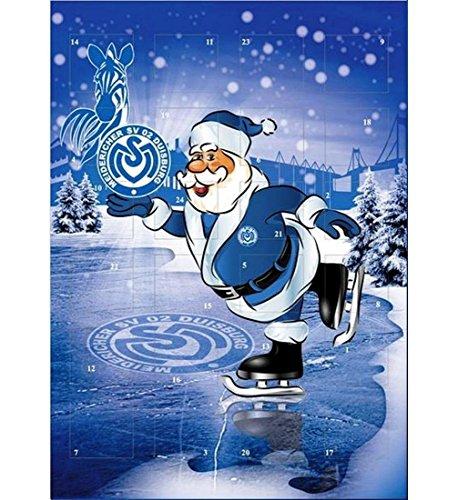 Preisvergleich Produktbild MSV Duisburg Kalender Adventskalender Weihnachtskalender 2012