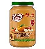 Cow & Gate Scrumptious Peach & Mango from 7m Onwards 200g