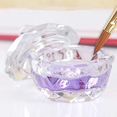 quanjucheer Nail Art Klar Akryl Gerichte Tasse mit Deckel für Acryl Liquid Pulver Styling-Werkzeug...