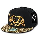 Whang Cali Bear - Gorra para Hombre, Color Leopardo, Talla n/a