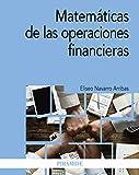 Matemáticas de las operaciones financieras (Economía Y Empresa)