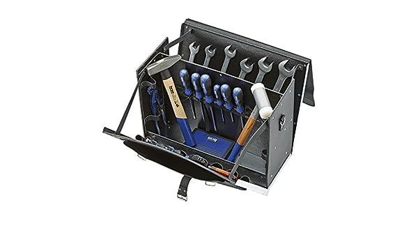 Forum 4317784922180 Werkzeugtasche Leder 340x110x170mm