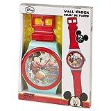 Grande 92cm Orologio da polso stile Disney Orologio da parete per camera bambini bambini tempo Jumb Topolino Mickey Mouse