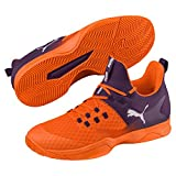 Puma Rise XT 3 Indoor Teamsport Schuhe Orange-Purple-White 6.5