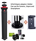 #6: Fotopro flexible Gorillapod mini Tripod stand with Gopro Mount & Mobile Holder for Camera, Gopro and Smartphone Payload 3Kg