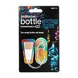 SUCK UK Flaschen-Lichterkette, Plastik, Mehrfarbig, 7 x 2.4 x 7 cm