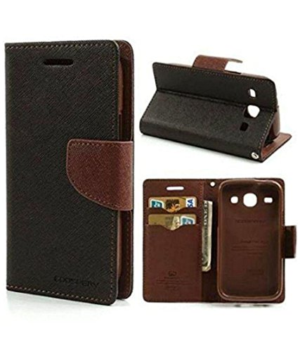 Motorola Moto E Brown Flip Cover