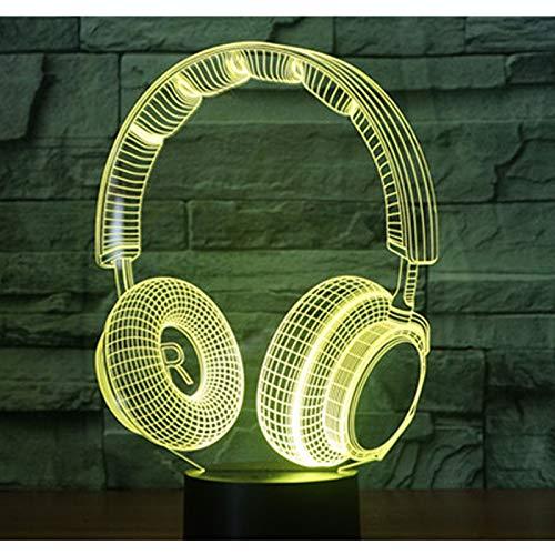 sik Dynamische Headset mit 7 Farben Licht für Dekoration Lampe Erstaunliche Visualisierung Optische Täuschung ()