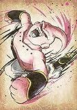 "Poster Dragon Ball ""Wanted"" Majin Boo - A3 (42x30 cm)"