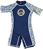 Surfit DSN5 - Ropa de natación con protección solar para niño, color azul marino/blanco, talla UK: 4-5