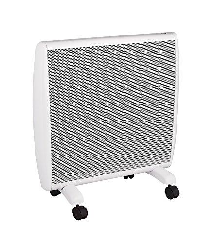 Haverland ANUBIS-10 - Niedriger Verbrauch Platte, 1000 Leistung, 1 Element, Elektronischer Thermostat, Räder inklusive