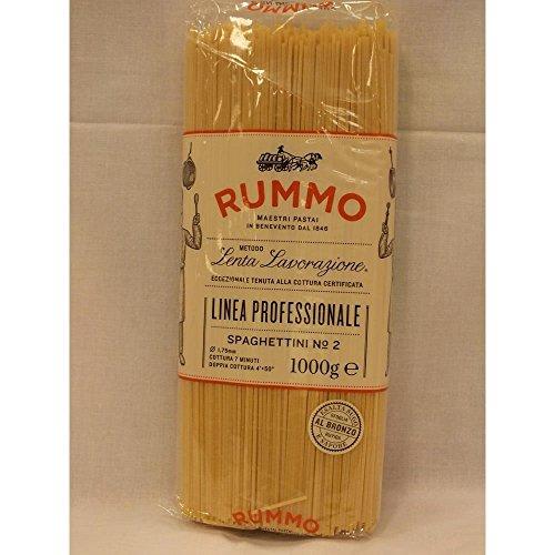 Rummo Lenta Lavorazione Spaghettini No.2 1000g Packung (Nudeln)