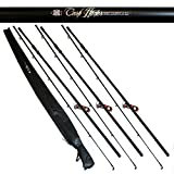 Brand New Carp Hunter 12ft 2.75lb Carp Fishing Rod With Cloth Bag X 3