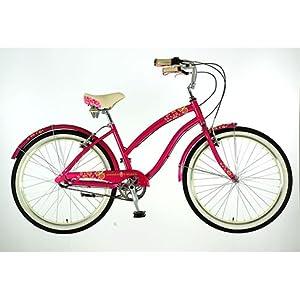 51%2B jo7nB1L. SS300  - Dawes Strawberry Ladies 3 Speed Shimano British Cruiser Bike (17)