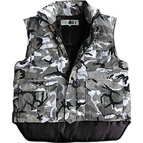 McAllister Robuste Rangerweste Gefütterte Arbeitsjacke Jägerweste Outdoorkleidung verschiedene Ausführungen (XL, City) (Online City Kid)
