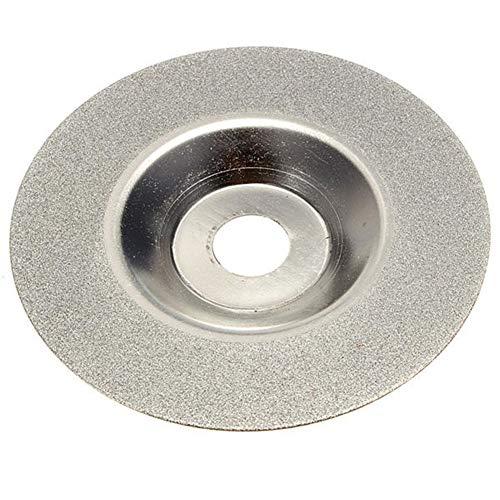 Dasiudaiosud Schleifwerkzeug 100mm 4 Zoll Diamantbeschichtete Schleifscheibe Grinder Silver Tone In China Hergestellt