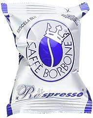 Idea Regalo - Caffè Borbone Respresso Miscela Blu - Confezione da 100 Pezzi - Compatibile Nespresso