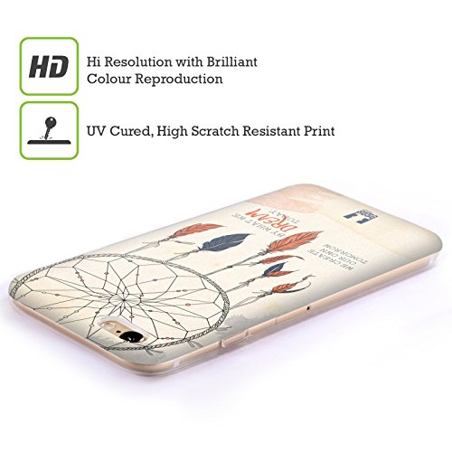 Head Case Designs Jamais Lâcher Attrape- Rêves 2 Étui Coque en Gel molle pour Apple iPhone 7 Plus / 8 Plus Rêve Aujourd'Hui