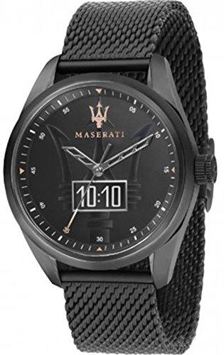 Maserati traguardo Unisex Analogue - Digital Quartz Watch with Stainless Steel Bracelet R8853112001