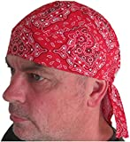 Fitted BANDANA Red paisley
