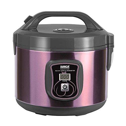 TOPQSC Fermentador de ajo Negro Todo-en-uno máquina de fermentación Inteligente ajo pote eléctrico para hogar Olla de ajo Negro automático (3L)
